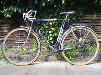 Vintage Raleigh Townsend Eclipse Racing Bike