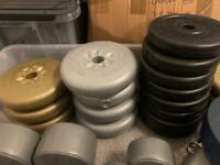 Bulk fitness weights