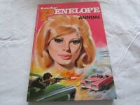 1966 Lady Penelope annual in good condition. Thunderbirds spin-off.