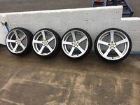 19'' Cade Apollos Alloys 5x112 not vw Passat bora golf gttdi sport Audi A4 a3 seat exeo Leon subaru