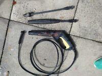 Karcher Gun, Hose, dirtblaster and vario blaster lance