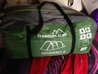Freedom trail Sendero 6 man tent for sale