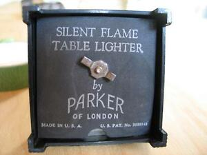 """ART DECO """"SILENT FLAME TABLE LIGHTER"""" by PARKER of LONDON West Island Greater Montréal image 3"""