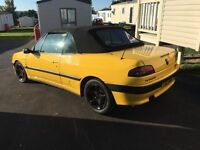 Peugeot 306 cabriolet in excellent condition with working roof
