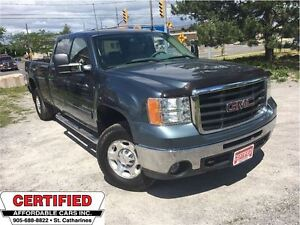 2009 GMC SIERRA 2500HD SLE Z-71, 4X4, CREW CAB, LONG BOX