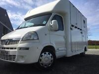 Vauxhall movano 3.5 t horsebox