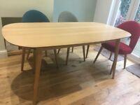 Extending dining table Skandi style