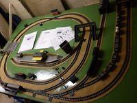 Triang oo gauge Model Railway with 2 x locos, Mail Train, wagons, etc.