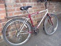 Unisex Challenge Bike Hybrid Bike with mudguards and rear rack