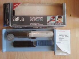 Braun Independent 2000 Combi Cordless Portable Curling Iron