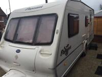 Touring caravan for sale Bailey Pageant 4 berth 2004