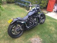 Harley Davidson 1450 Night Train Custom. 2004 stunning show winning bike.