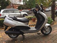 2003 PEUGEOT ELYSTAR 125 ,FULL MOT RUNNING WELL ONLY £750 30 DAYS WARRANTY AT KICKSTART BELFAST