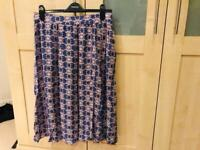 M&S Indigo Ladies Skirt Size 10-12 for sale  Bournemouth, Dorset