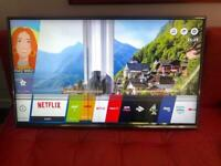 """43"""" LG SMART TV with SMART Remote - spares or repair"""