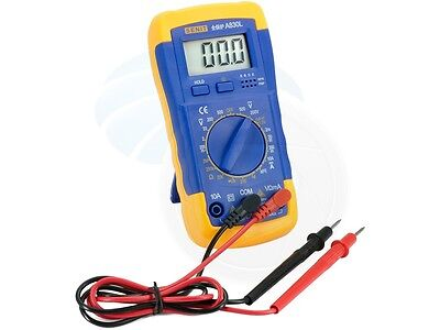 Digital Multitester Ammeter Voltmeter Multimeter Acdc Diod Resistance