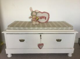 Upcycled chest/ seat