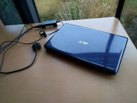 "ACER 5738G Laptop 15.6"" - Core 2 Duo P7450 - 4 GB RAM - 250 GB HDD - PERFECTLY WORKING CONDITIONS"