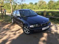 BMW 323i SE Automatic (E46), only 82k miles, Full Beige Leather interior with Burr Walnut trim