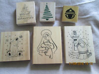 Xmas Rubber Stamps