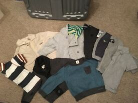 Baby boys clothes bundle 3-6 mths **9 items - ted baker, timberland, next