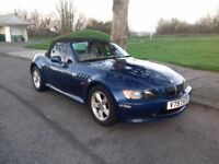BMW Z3 Wideboady Roadster 1.9 Convertible- Brand New MOT