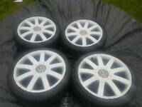 Vw / Audi 18 inch alloy wheels multi fit