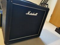 Marshall 1x12 speaker cab loaded with Celestion Vintage 30
