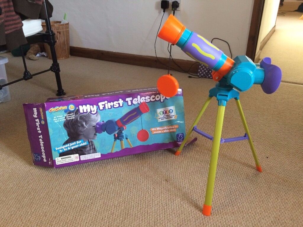 Kids telescope, used a couple of times