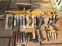 Bricklayers tool kit