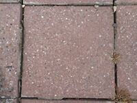 Paving slabs used but in good condition