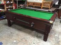 Pool table slate bed 7x5