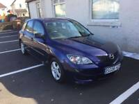 2006 MAZDA 3 SAKATA RELIABLE CAR SERVICE HISTORY MOTED PX WELCOME £595