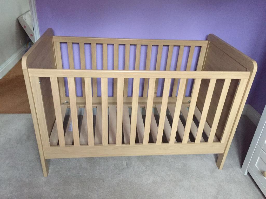 mamas and papas murano cot bed instructions