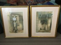 John Lewis Gold-Framed Prints of Egyptian Temples