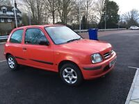 Nissan micra red 1.0 l