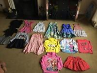 Girl's clothes bundle 15 items size 6 and 7 yr