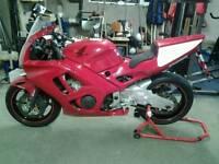 1998 Honda CBR 600 Motorcycle - Track Day Bike / Race Bike / Road Racing Bike