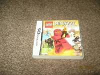 NINTENDO DS GAME*** LEGO NINAGO THE VIDEO GAME ***AS SHOWN ** £ 4**