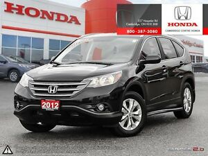 2012 Honda CR-V EX-L LEATHER INTERIOR | MULTI-ANGLE REAR VIEW...