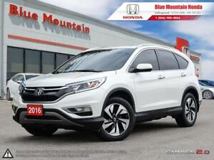 2016 Honda CR-V Touring-WARRANTY TO 130, 000KM!!