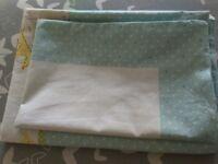 Children's pillow, plus a pillowcase.