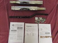 HARLEY DAVIDSON SCREAMING EAGLE II SILENCER AND FITTING KIT
