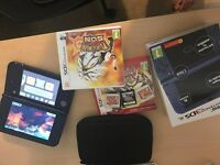 New 3DS XL with Pokemon Sun, Omega Ruby and Sapphire