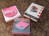 Kitchen Scales-New boxed-Selection @ £4 each!