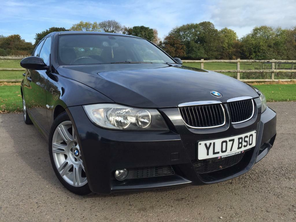 bmw 3 series 320d m sport black 2007 in wrington bristol gumtree. Black Bedroom Furniture Sets. Home Design Ideas