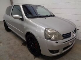 RENAULT CLIO 182 RENAULTSPORT, 2005/05,LOW MILES,LONG MOT,FINANCE AVAILABLE, WARRANTY