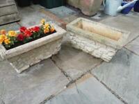 Concrete Garden Tubs. Planters. Troughs