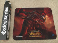 Steelseries QcK WoW:Cataclysm Deathwing Edition Mouse Pad (Limited Edition)