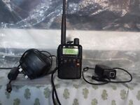 ICOM R5 Compact Wideband Handheld Receiver / Scanner